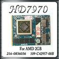 Оригинал Для DELL HD7970M HD 7970 HD7970 2 ГБ 216-0836036 DRR5 Видеокарты GPU VGA 109-C42957-00B Видеокарта замена