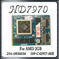 Original para dell hd7970m hd 7970 hd7970 2 gb 216-0836036 placa de vídeo placas gráficas gpu vga 109-c42957-00b drr5 substituição