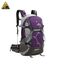 KIMLEE 35L Men Women Sport Backpack Bag 3D Waterproof Camping Mountaineering Travel Hiking Backpack With Rain