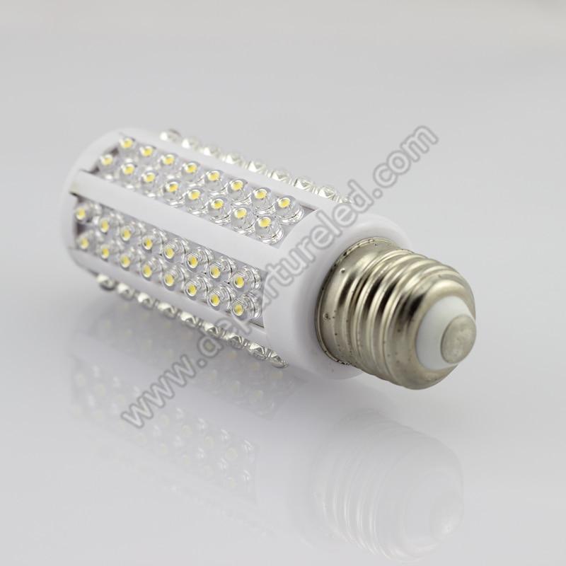 Free shipping 1xpcs  7W E27 220v AC 360degree light Epistar chip DIP lamp bead white corn light