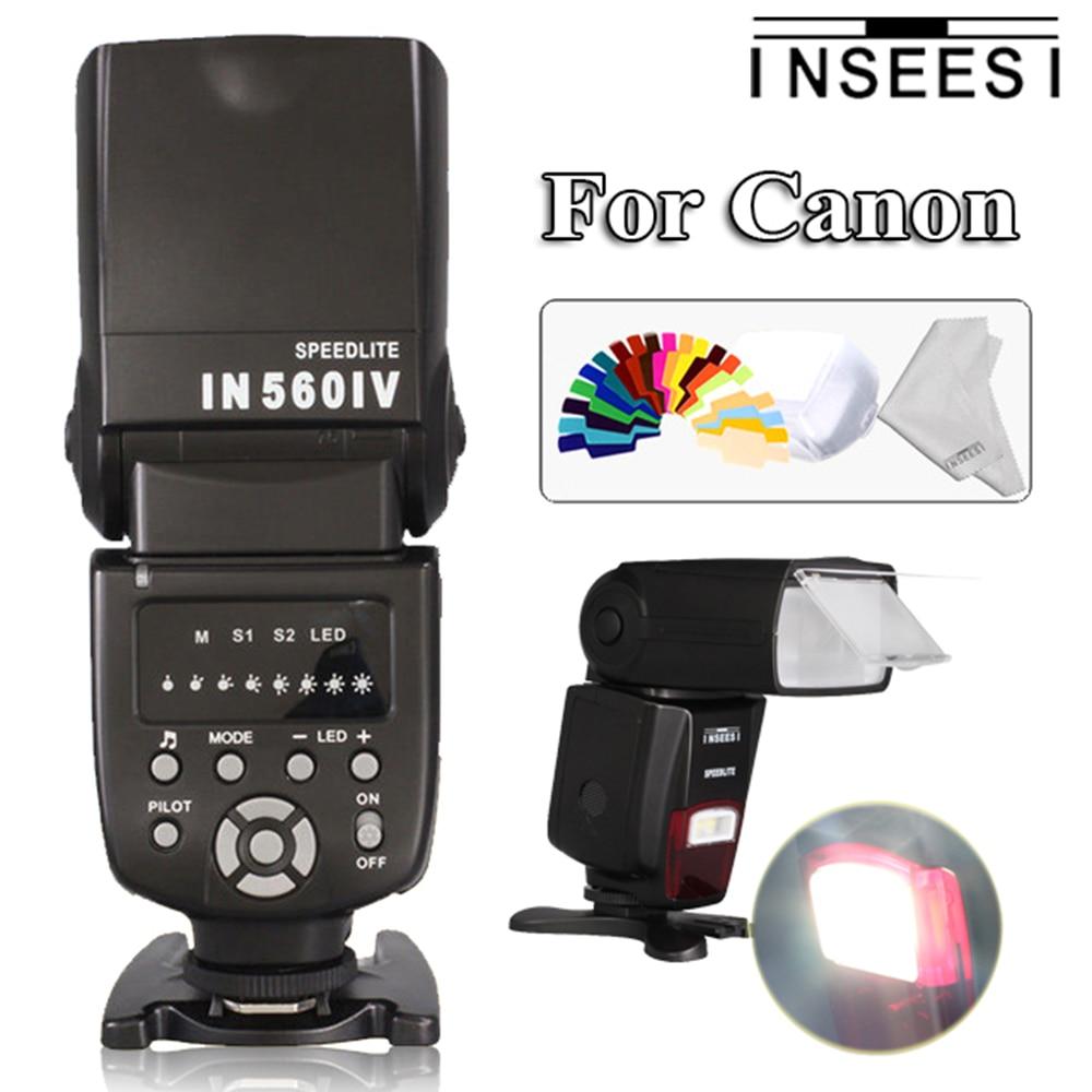 INSEESI IN560IV IN-560IV Sans Fil Caméras Flash Speedlite Pour Canon EOS 60D 5D Mark III 450D 1100D 1000D 5D2 550D 30D 50D DSLR