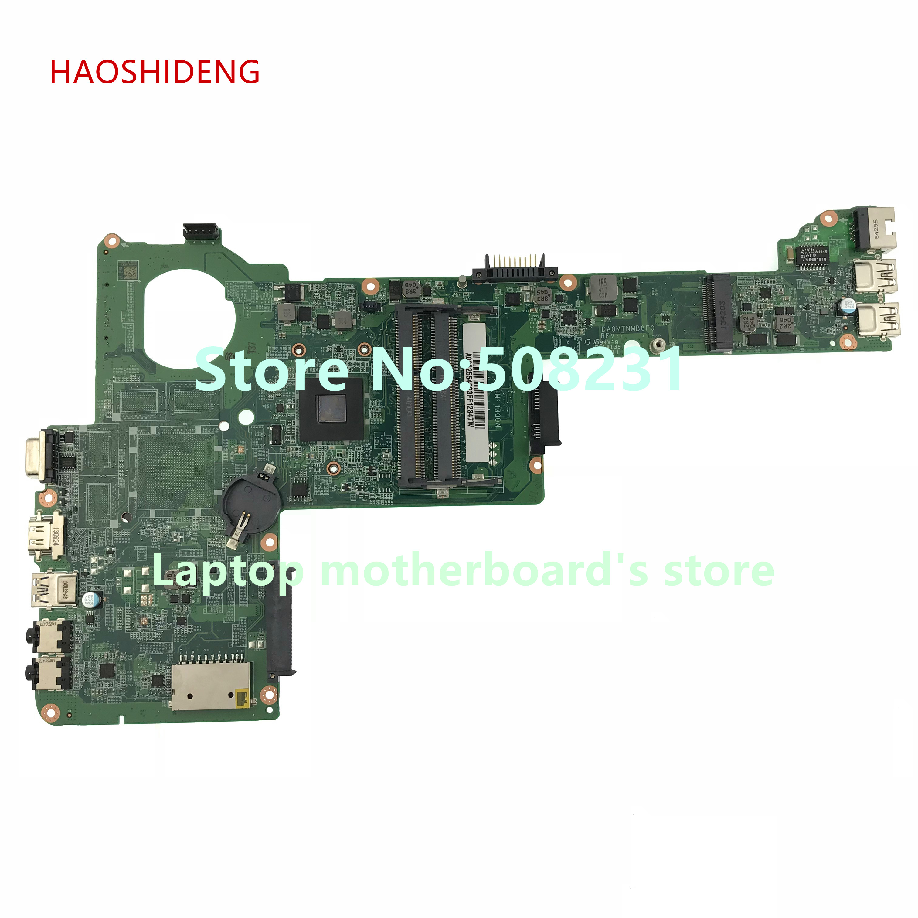 HAOSHIDENG A000255420 DA0MTNMB8F0 For toshiba satellite C40D C45D C40D-A laptop motherboard All functions fully Tested ирина галинская культурология дайджест 1 2014