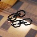 Nova Novidade Óculos De Metal Empate Clip Forma Prego de Cobre Bar Empate para homens Business casual Versão Limitada de Alta Qualidade Empate Clipe