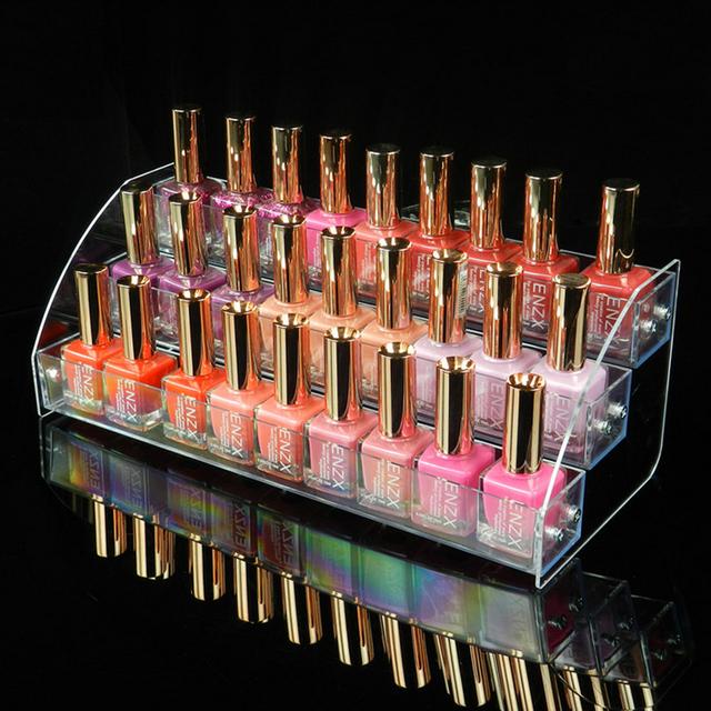 New Style Acrylic 40 Layers Makeup Cosmetic Organizer Box Mac Delectable Mac Lipstick Display Stand