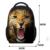 FORUDESIGNS Niños de La Manera 3D Animal Bolsas de Escuela Del Bebé Niños Perro Impresión Bagpack 12 Pulgadas little Kids Casual-bolsa de la escuela Bolsa de libros