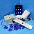 Completa Completa de toque Rfid teclado Sistema de Segurança Controle de Acesso Kit + 300LBS Elétrica Fechadura Magnética + Alimentação + Porta sino