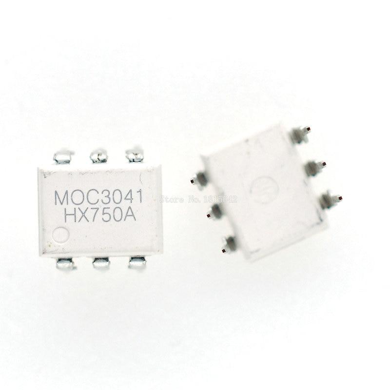 10PCS/LOT MOC3041 DIP6 DIP Photoelectric Coupler Optocoupler DIP-6 New