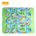 200x160 CM Crianças Floresta Feliz Cidade Estrada Desenvolvimento Do Bebê Jogar Mat Tapete Almofada Puzzle Tapetes Impressos Para Presente