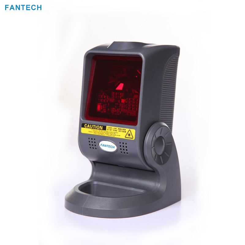 FANTECH Laser Barcode QR Code  Scanner for Supermaket Cashier  1400lines/sec  High Speed  Scanning Platform 32bit Free Shipping laser head copy parts for samsung k2200 m436 laser scanner jc97 0431a