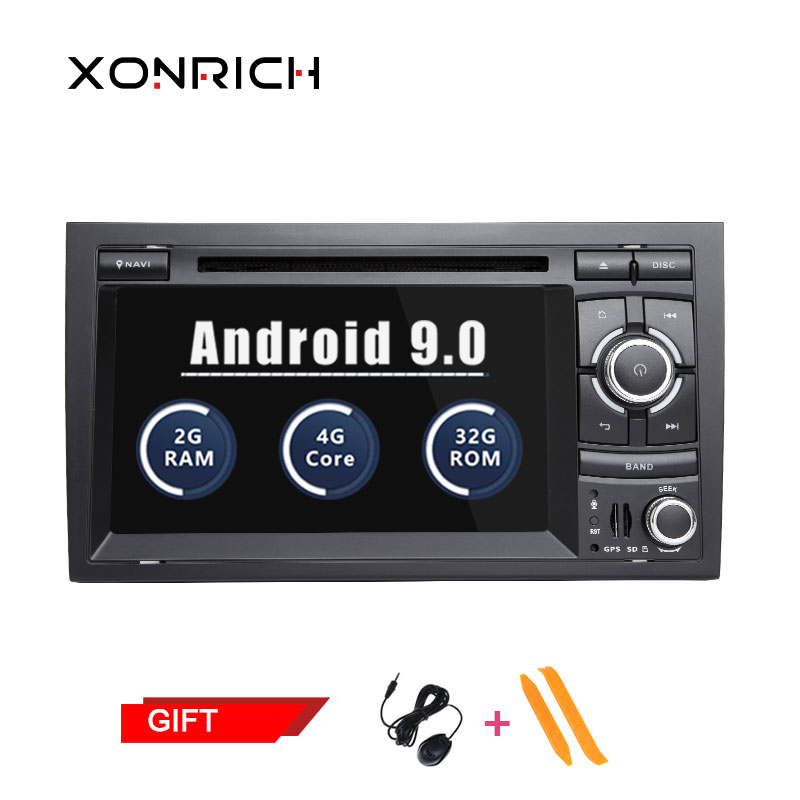 Double Din Autoradio Android Car Stereo For Audi A4 B6 B7 S4 B7 B6 RS4 B7 SEAT Exeo dvd player radio stereo 4G BT Navi OBD2
