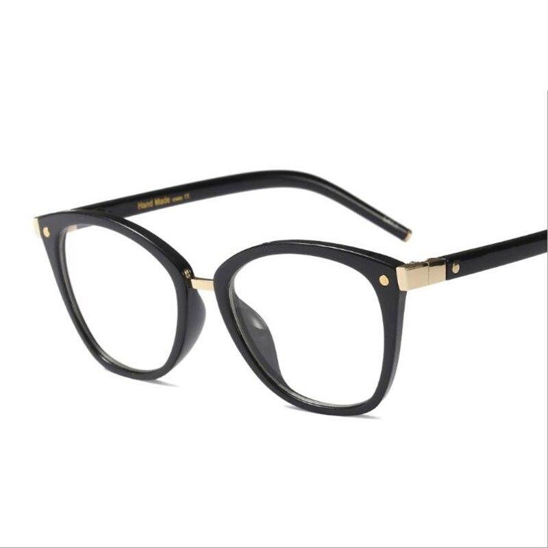 Ultra-light Retro Glasses Frame Myopia Round Frames Women Female Style Fashion Optical Eyewear