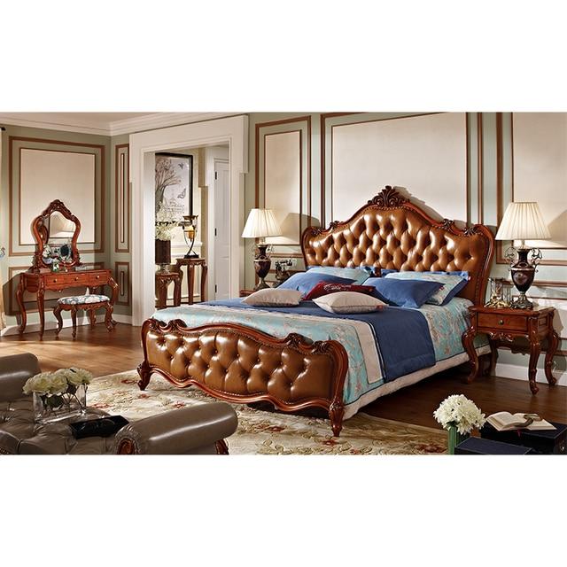 antique royal wood furniture bedroom sets-in Bedroom Sets from Furniture on  Aliexpress.com | Alibaba Group