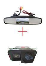 4,3 дюймов светодиодный длинное зеркало для контроля уровня сахара в крови с автомобиль ПЗС-камера заднего вида для Защитные чехлы для сиден...