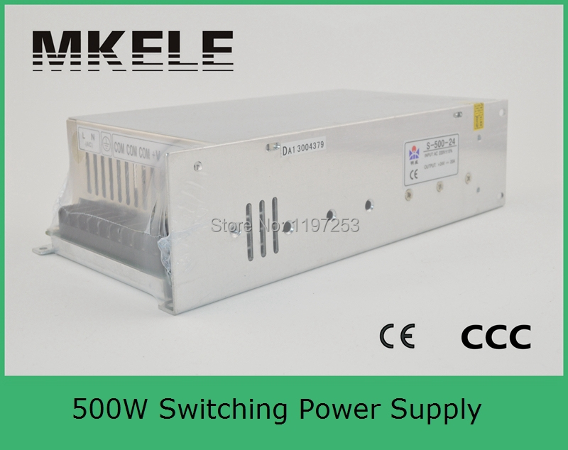 ФОТО customized power supply professional 500w 27v transformer 500w S-500-27 18A wide range input with metal case smps