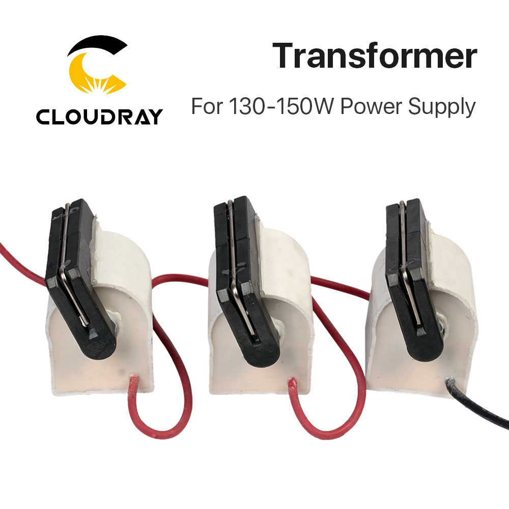 Cloudray High Voltage Flyback Transformer For CO2 150W Laser Power Supply