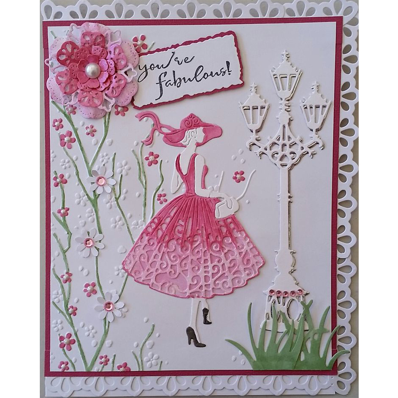 what is die cutting in card making