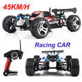 Free shipping Wltoys 2.4GHz 4WD RC Racing Car Remote Control Electric Toy viechle Machine High speed With 45KM/H Gift for Boy