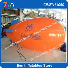 free air shipping to door,2PCS/lot,advertising inflatable air helium blimp balloon,zeppelin airplane airship balloon