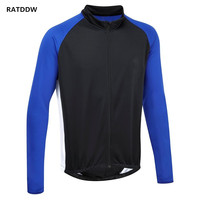 Men's Thermal Fleece Winter Cycling Clothing Ropa Ciclismo Winter Bicycle Cycling Jersey Quick-Dry Mountain Bicycle Clothing