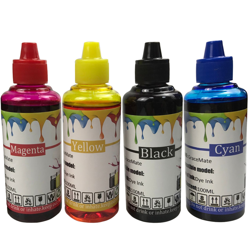 100ml*4 INK <font><b>652</b></font> replacement for <font><b>HP</b></font> Deskjet 1115 1118 2135 2136 2138 3635 3636 3835 4536 4538 3775 replacement For <font><b>HP</b></font> <font><b>652</b></font> image