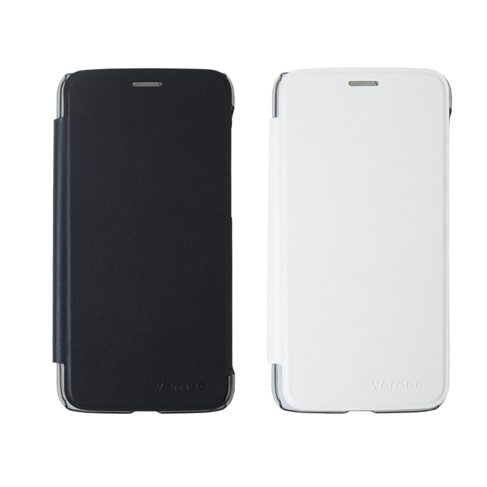 Original Vernee Thor Case Leather Flip Back Cover Case For Vernee Thor With Stand And Window