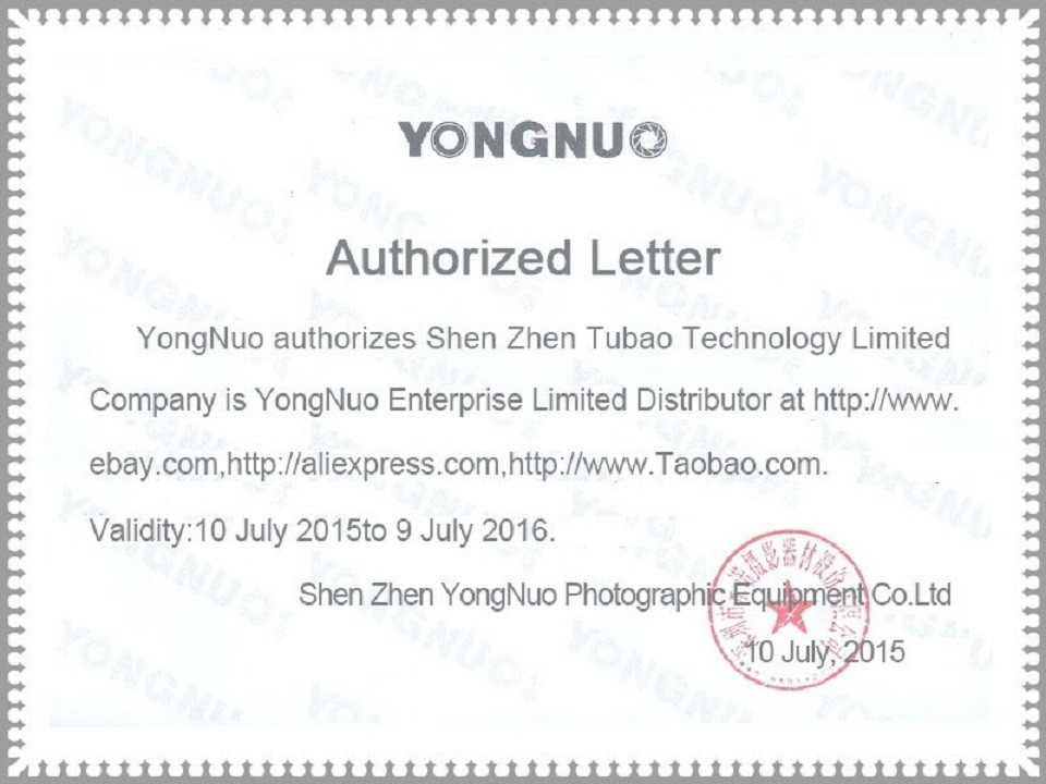 Authorized Letter