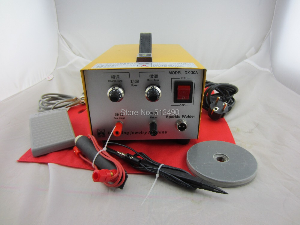 110Vjewerly welding machine200W jewelry spot welderpulse welding machine Mini spot welding machine jewelry soldering machine