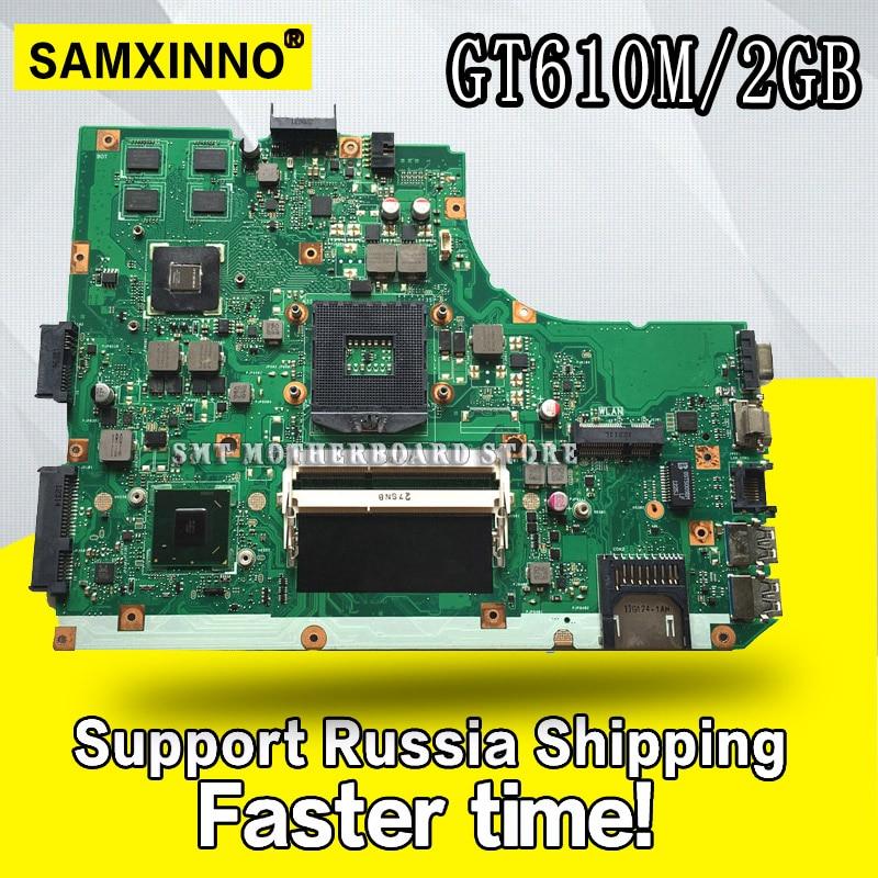 K55VD Motherboard REV3.0/3.1 GT610M 2GB For ASUS R500A K55V laptop Motherboard K55VD Mainboard K55VD Motherboard test 100% okK55VD Motherboard REV3.0/3.1 GT610M 2GB For ASUS R500A K55V laptop Motherboard K55VD Mainboard K55VD Motherboard test 100% ok