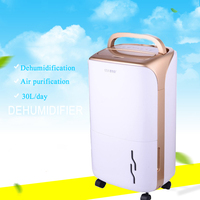 320W High Efficiency Dehumidifier Household Air Dryer with 4L Water Tank 12L/D Humidification CSL 1010