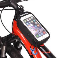 Bicycle Cycling Bike Frame Front Tube Waterproof Cellphone Bag For IPhone 6 6S