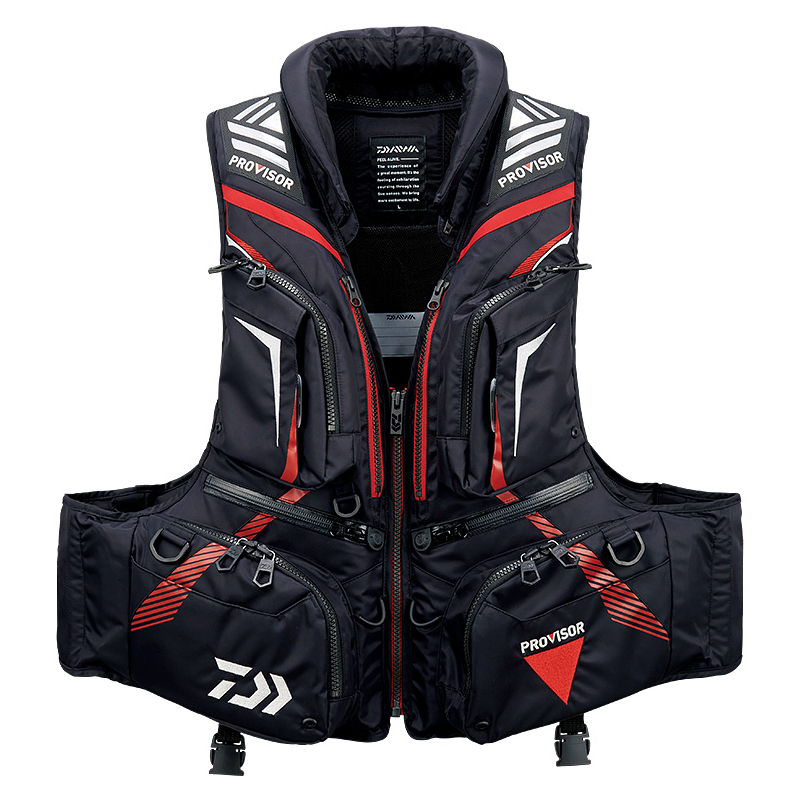 2019 NEW DAIWA life jacket DAWA DF 3208 Vest outdoors buoyancy 120 kg Multi function sport