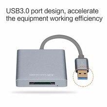 YENI Yüksek Kalite Yüksek hızlı 5 Gbps USB3.0 XQD kart okuyucu XQD 2.0 USB 3.0 Hafıza Kartı Okuyucu XQD 500 MB/S