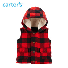 Will Carter's Buffalo Check Twill Flannel Vest Autumn