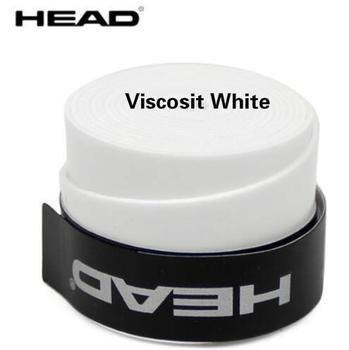 10pcs/lot Head Tennis Racket PU Overgrip Anti-skid Sweat Absorbed Soft Wrap Taps Tenis Racquet Damper Dry/ Vibration Tacky grips - Viscosit white