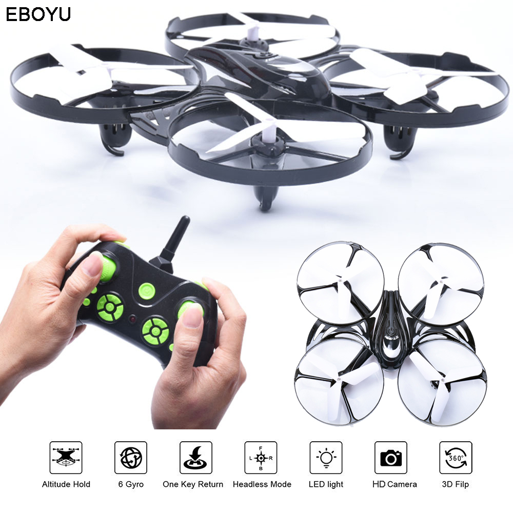 EBOYU ZT-991 4CH 2.4GHz Mini Racing Drone RC WIFI FPV Drone with Headless Mode Altitude Hold RC Quadcopter RTF