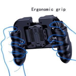 Image 5 - Controle pubg com ventilador para jogos de celular, controle de jogos de dispositivos móveis com botão de disparo, joystick para iphone, ios