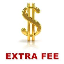 Extra Shipping Fee, Extra Item Fee extra shipping fee extra refund money