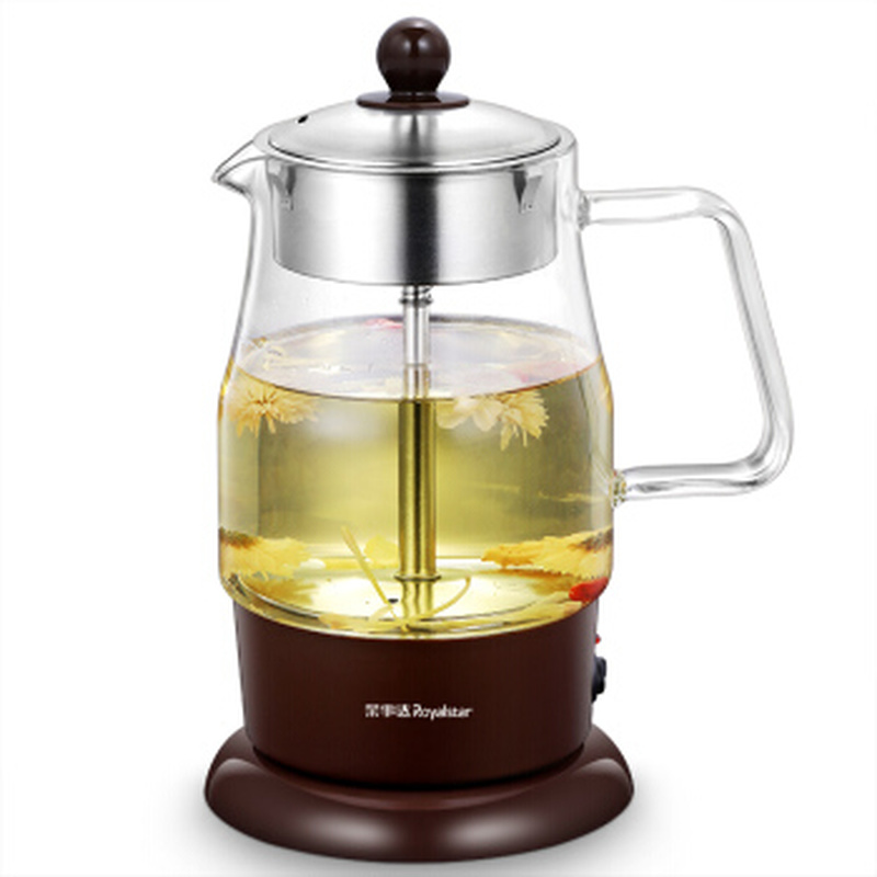 все цены на Electric Glass Water Kettle Steam Spraying Tea Maker with Stainless Steel Filter Over-heat and Anti Dry Protection Tea Wamer
