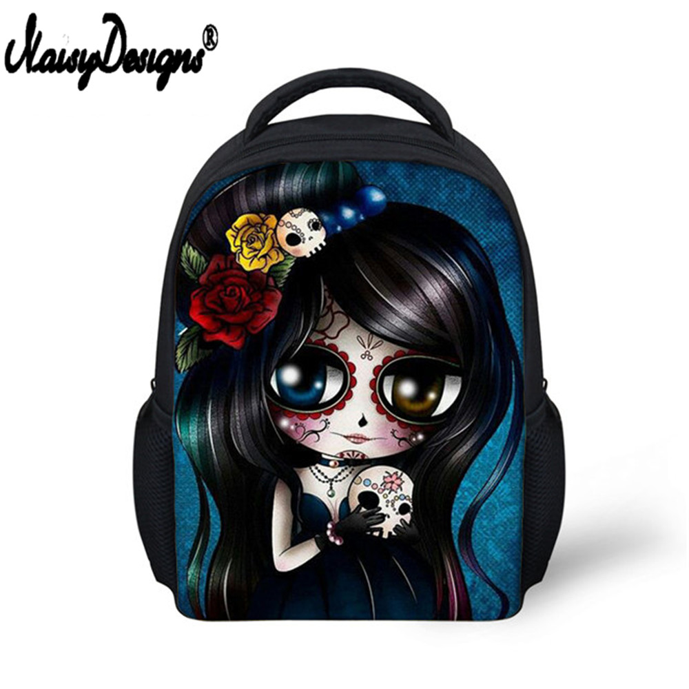 Hot Sale Cute Small Backpack Childrens Kids 3d Cool Skull Printing