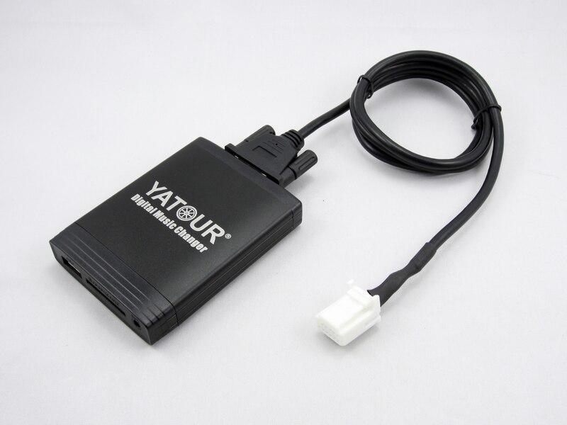 Автомобильный адаптер YATOUR AUX, MP3, SD, USB, музыкальный CD адаптер, разъем для NISSAN Pathfinder Primera Qashqai Teana Tiida X Trail Radio - 3