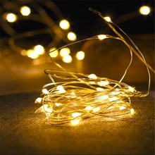 Decoration Anniversaire Party Copper Wire 10M 100LED Battery String light  lamparas led strip for festival christmas wedding