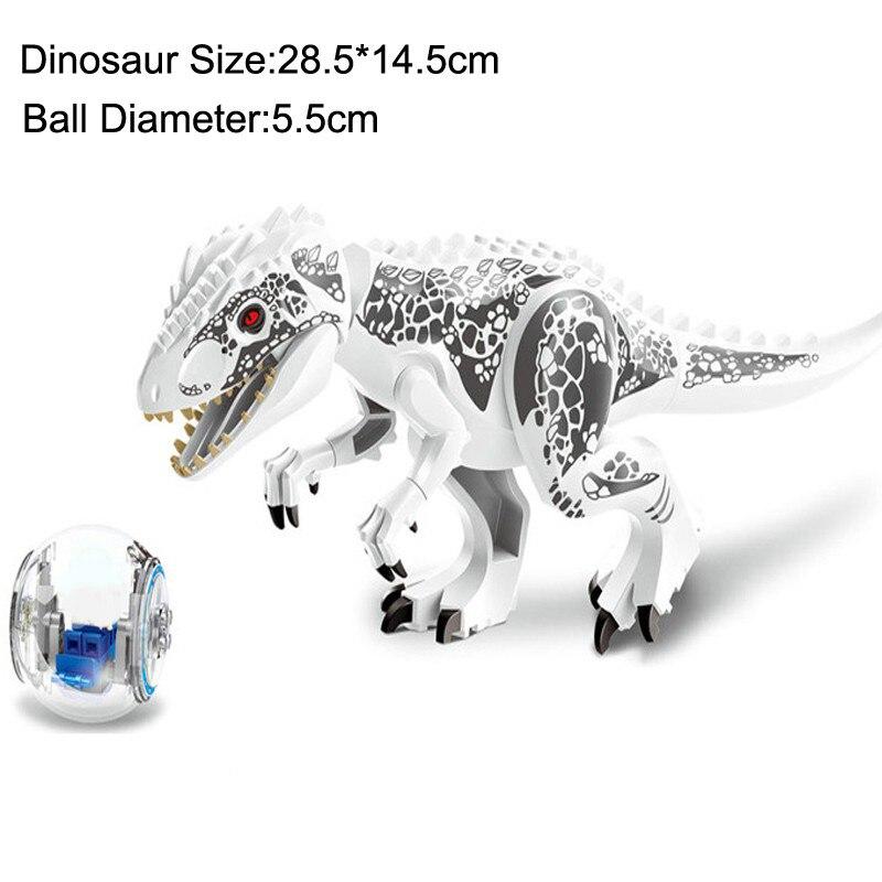 Купить с кэшбэком Jurassic World Dinosaurs Figures Building Blocks Tyrannosaurs Rex Pterosauria Compatible Legoing Toys City Enlighten Toy Gift