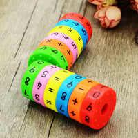 Magnetische Montessori Kinder Vorschule Pädagogisches Kunststoff Spielzeug Für Kinder Math Zahlen DIY Montage Puzzles Jungen Mädchen Geschenke