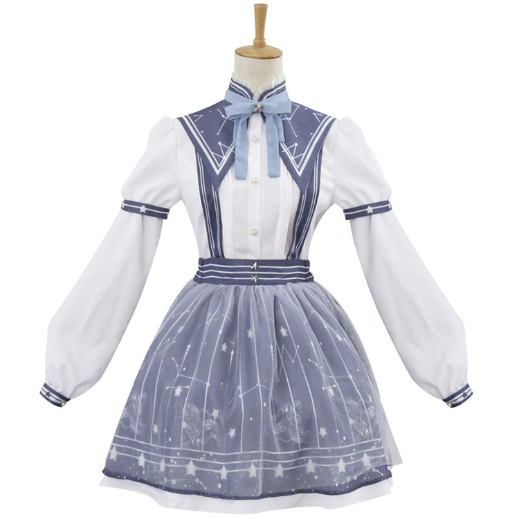 Miracle-warm-with-the-same-paragraph-COS-clothing-lolita-streamer-garden-autumn-pick-star-classic-daily (3)