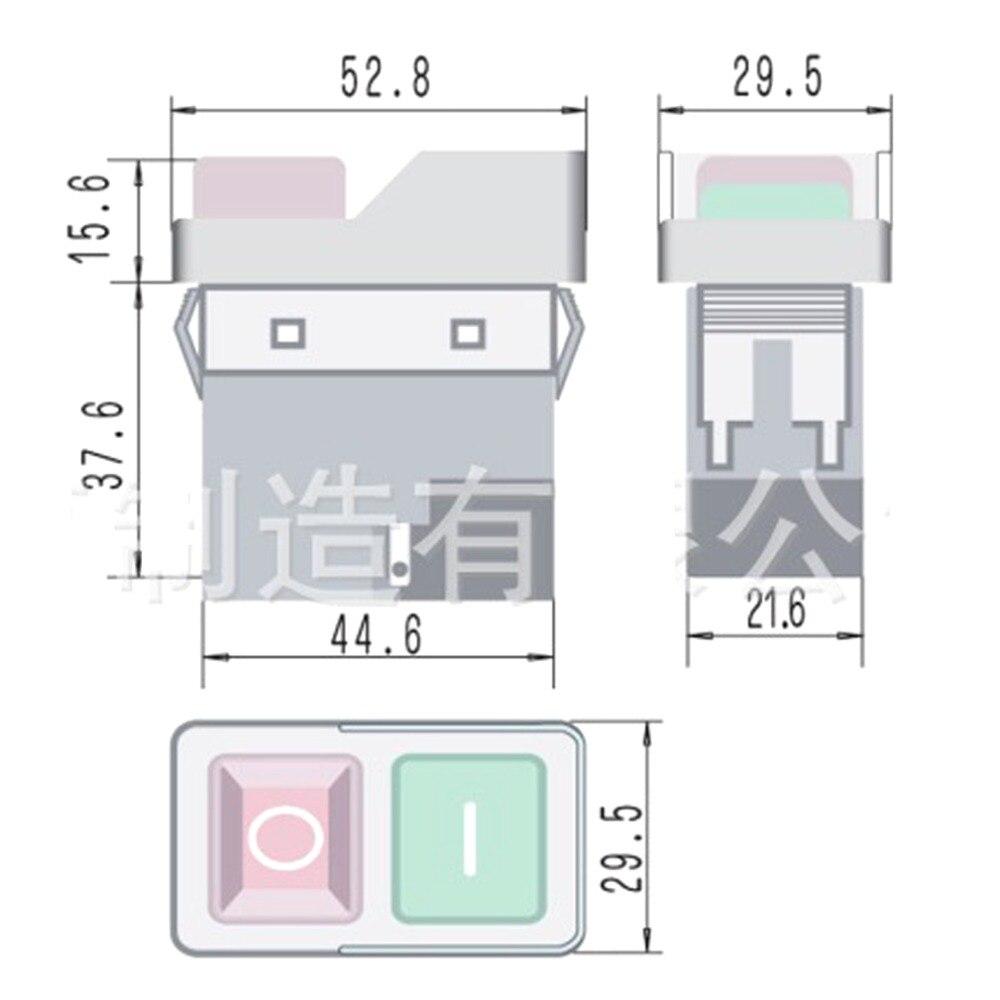 CK21 4Pin 5Pin Pushbutton Switches 7