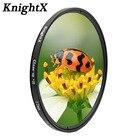 KnightX Macro close up Camera Lens Filter For canon eos sony nikon photography kit 50d d3300 24-105 d5300 18-135 200d light d80