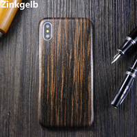 For Apple iPhone XS Max Case Cover Luxury Slim Hard Natural Wood Shockproof Armor Phone Case for iPhone X XR Back Cover Funda