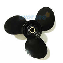 Aluminum Propeller 11 1/2×11 For Suzuki Outboard Engine DT40 DT50 40HP 50HP 11-1/2×11 58100-95222-019