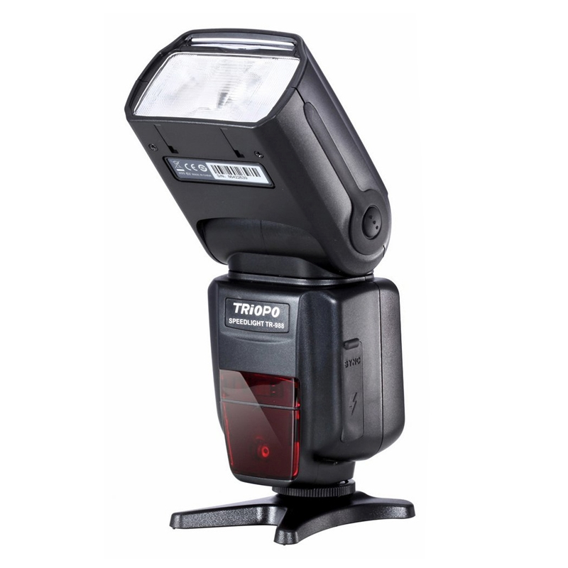 все цены на TRIOPO TR-988 Professional Speedlite TTL Camera Flash High Speed Sync for Canon Nikon Digital SLR Cameras Flash Light онлайн