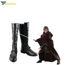 цены Star Wars Skywalker Luke Cosplay Boots Shoes Custom Made